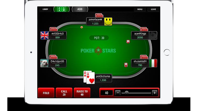 PokerStars mobile image