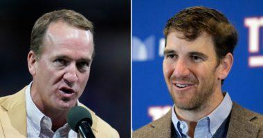 Peyton And Eli Manning September 2021